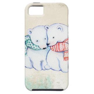 Polara björnar kopplar ihop iPhone 5 Case-Mate cases
