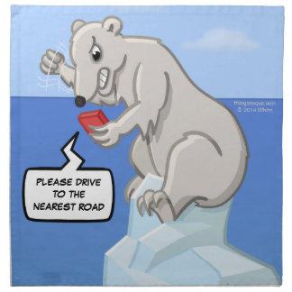 Polara lagerhärdsmältaservetter tygservett