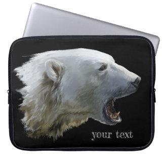 Polara morranden för en björn laptop sleeve
