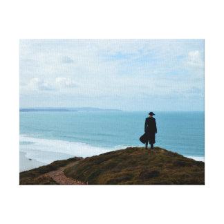 Poldark land Cornwall England Canvastryck