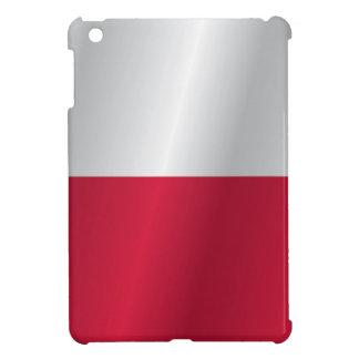 Polen flagga iPad mini mobil skal