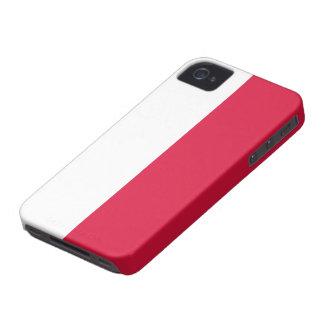 Polen flagga iPhone 4 Case-Mate fodral