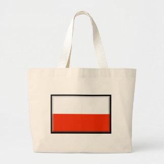 Polen flagga kasse