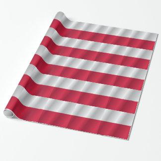 Polen flagga presentpapper