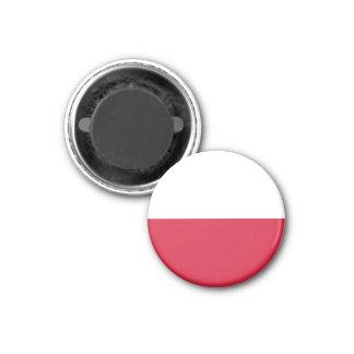Polen flaggamagnet magneter