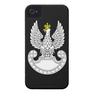 Polen landstyrkor iPhone 4 Case-Mate fodral