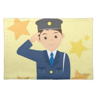 Polis Bordstablett