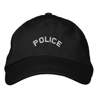 POLIS broderad hatt