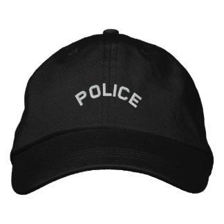 POLIS broderad hatt Broderad Keps