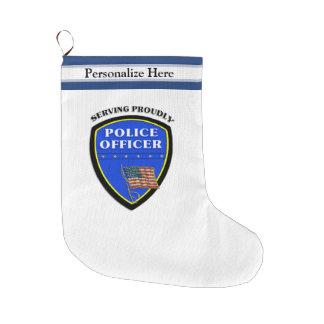 Polis Stor Julstrumpa