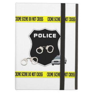 Polisbrottplats iPad Air Fodral