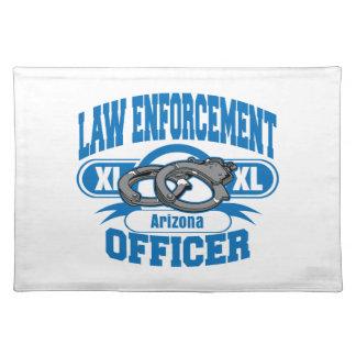 Polisen handfängslar Arizona Bordstablett