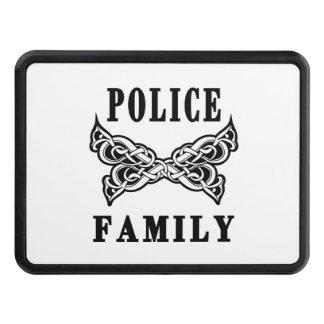 Polisfamiljtatueringar Dragkroksskydd