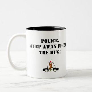 Polismugg Två-Tonad Mugg