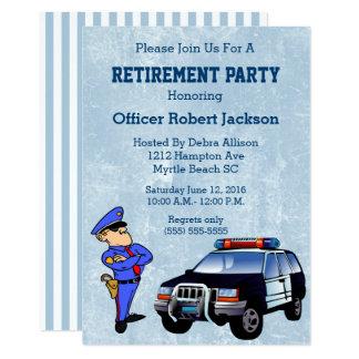 Polispensioninbjudan 12,7 X 17,8 Cm Inbjudningskort