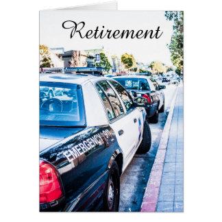 Polispensionkort Hälsningskort