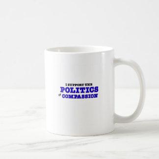 Politik av medkänsla kaffemugg
