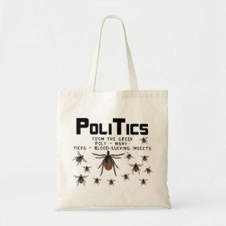 Politik betyder att många sugande insekter för blo tygkasse