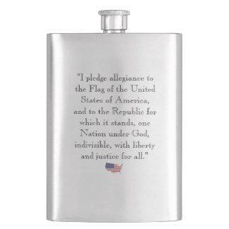 Politik eller regering som kör dig till…, Flaska Fickplunta