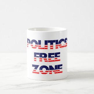 Politik frigör zon kaffemugg