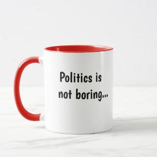 Politik som inte borrar grymt roligt mugg