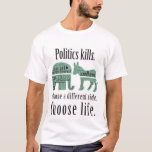 PolitikdödaTshirt 2XL T-shirts