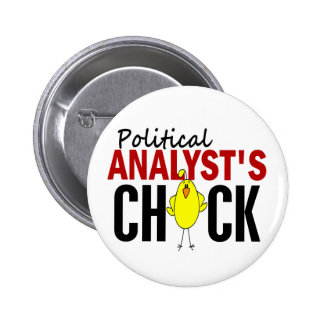 POLITISK ANALYTIKER CHICK STANDARD KNAPP RUND 5.7 CM