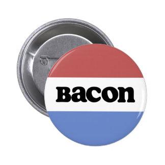 Politisk bacon standard knapp rund 5.7 cm