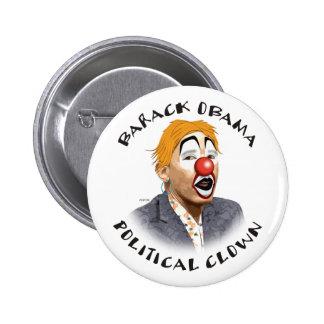 Politisk clown standard knapp rund 5.7 cm