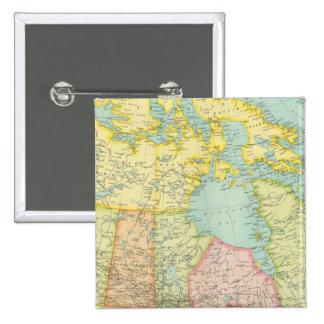 Politisk herravälde av Kanada Standard Kanpp Fyrkantig 5.1 Cm