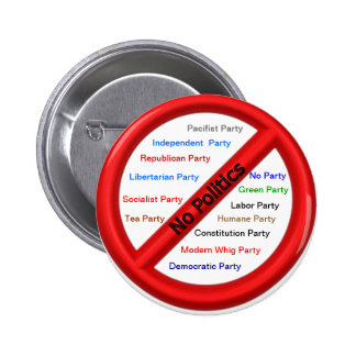 Politisk kampanjimpregneringsmedlet knäppas standard knapp rund 5.7 cm