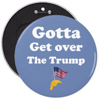 Politiska Donald Trump Impeach trumf knäppas Jumbo Knapp Rund 15.2 Cm