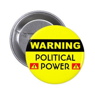 Politiskt driva knäppas standard knapp rund 5.7 cm