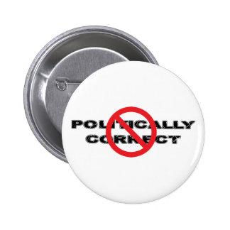Politiskt korrekt förbud standard knapp rund 5.7 cm