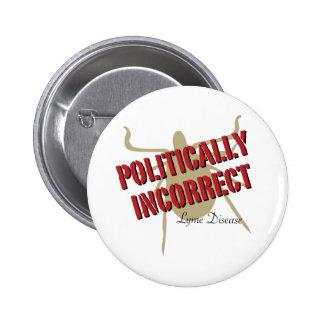 Politiskt oriktig Lyme sjukdom - Knappar