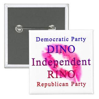 Politiskt parti knapp