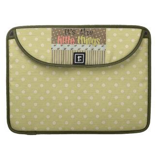 Polka dotsRickshawMacbook Pro laptop sleeve 15 Sleeve För MacBook Pro