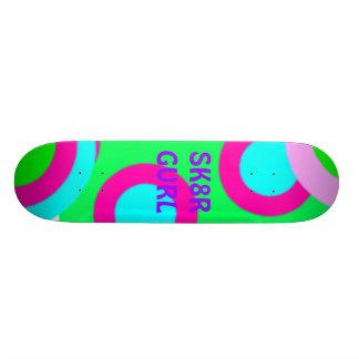 PolkaDotPower SK8R GURL Skateboard Bräda 19,5 Cm