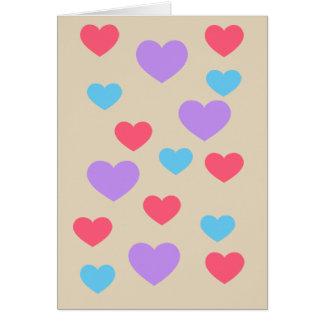 PolkahjärtaEmoji kort