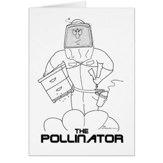 Pollinatoren Hälsningskort
