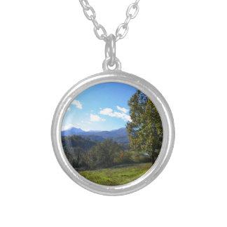 Pollino nationalpark silverpläterat halsband