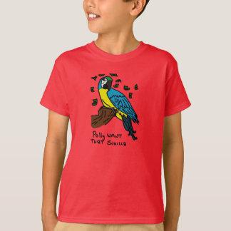 Polly önskar den Scrilla Tee Shirt