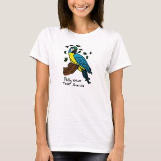 Polly önskar den Scrilla Tee Shirts