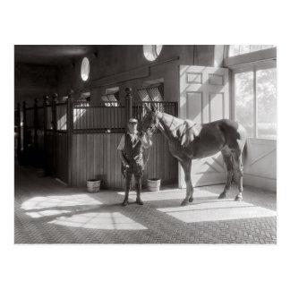 Polo Stall, 1933 Vykort