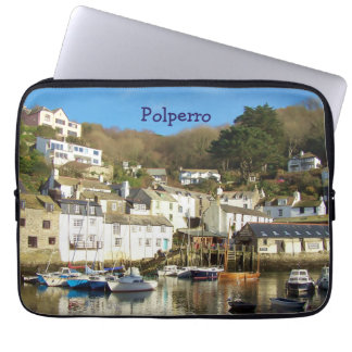 Polperro hamn Cornwall England Laptop Sleeve