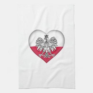 Polsk kärlekkökshandduk kökshandduk