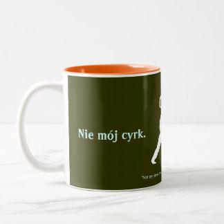 Polsk Proverb Två-Tonad Mugg