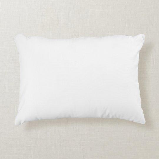 Custom borstad polyester Accent kudde 40.64 cm x 30.48 cm
