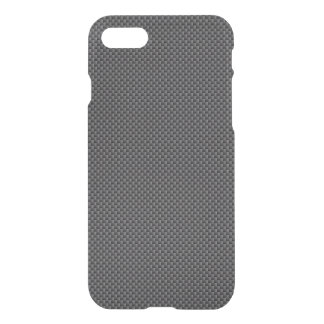 Polymer för svart- och grå färgkolfiber iPhone 7 skal