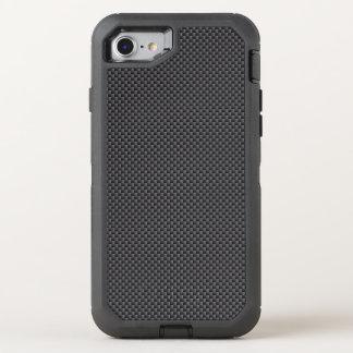 Polymer för svart- och grå färgkolfiber OtterBox defender iPhone 7 skal